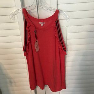 NWT Juicy Couture sleeveless sweater XL
